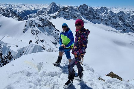 Silvrettahorn (3244m) von der Silvrettahütte