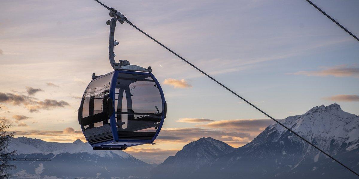 Neue Gondelbahn auf den Glungezer in den Tuxer Alpen (c) Hall-Wattens-Tourismus
