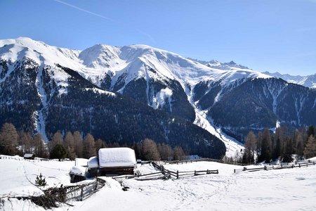 Frudiger Kreuz – Frudigeralm Schneeschuhrunde
