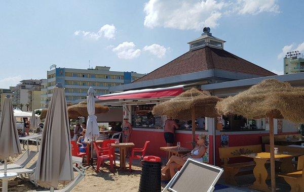 Strandpromenade in Jesolo