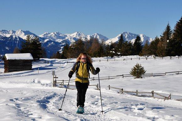 Lüsner & Rodenecker Alm - Schneeschuhwandern im Paradies