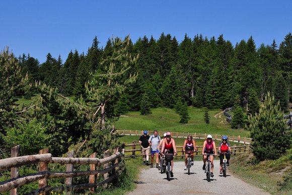 Besondere Mountainbike Regionen in den Alpen