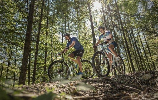 Erlebnissvolle Mountainbike-Touren im Ferienland Kufstein