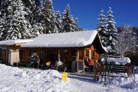 Muggenmoos Alm - Winterwanderung von der Buchener Höhe