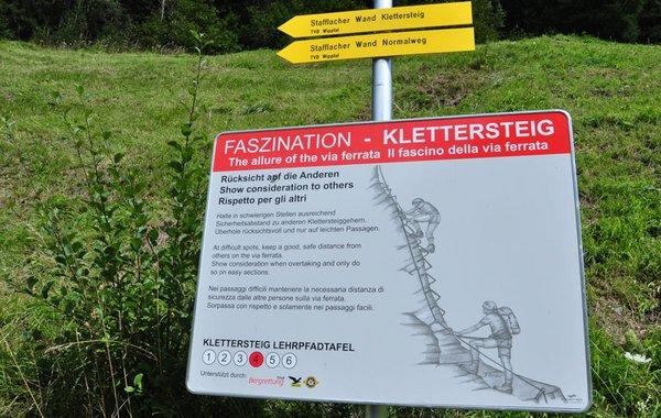 Klettersteig-Lehrweg