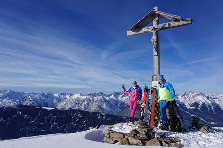 Sechszeiger (2392m) von der Talstation der Hochzeigerbahn