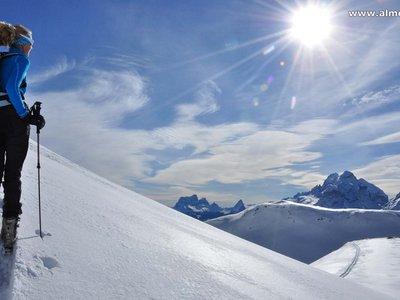 Aufstieg Kleine Gaisl-Dolomiten