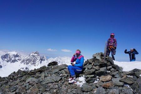 Rundtour Piz Fliana (3281m) von der Silvrettahütte