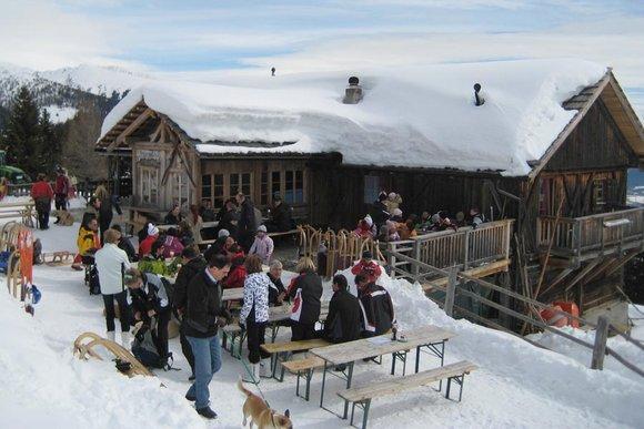 Rodelhütten in Südtirol