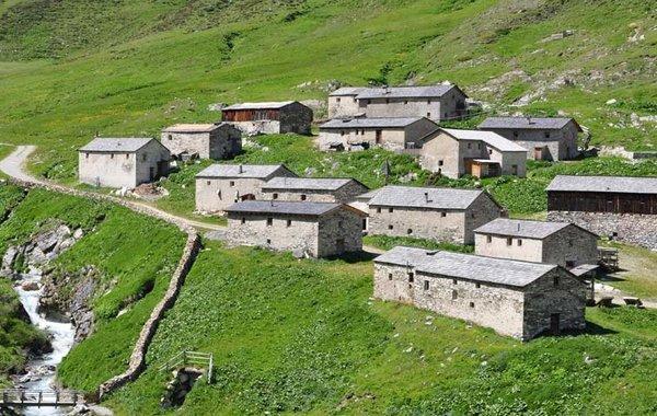Jagdhaus Almen im Defereggental