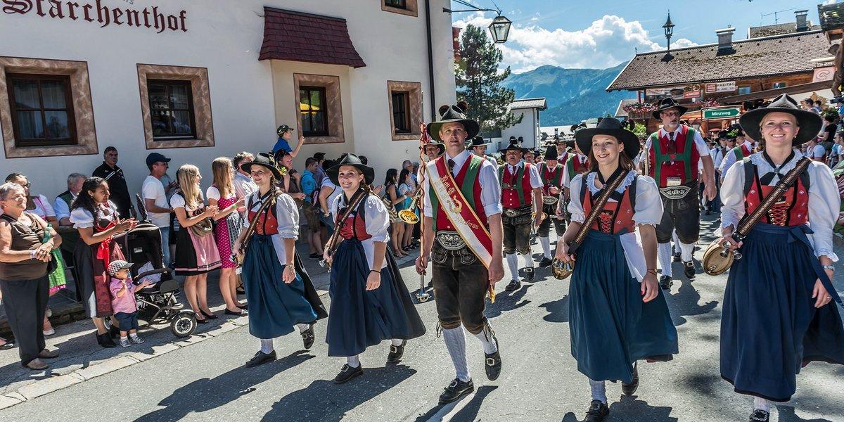 Bundesmusikkapelle Niederau beim Talfest, (c) Timeshot