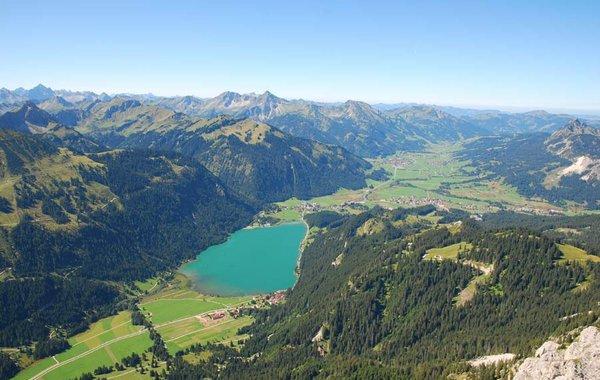 Blick über das Tannheimer Tal