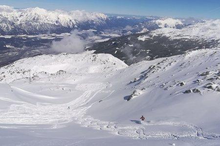 Glungezer: Paradies für Skitouren und auch Schneeschuhwanderungen