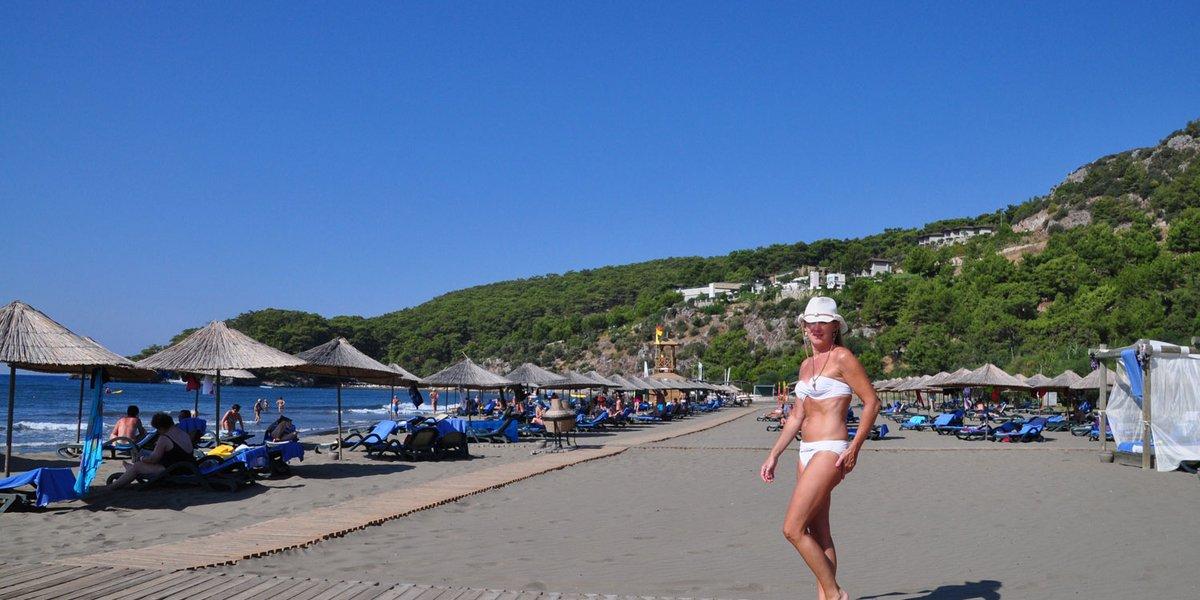 Wunderschöner Strand bei Sarigerme