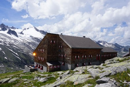 Kürsinger Hütte (2558m) über den Kürsingersteig