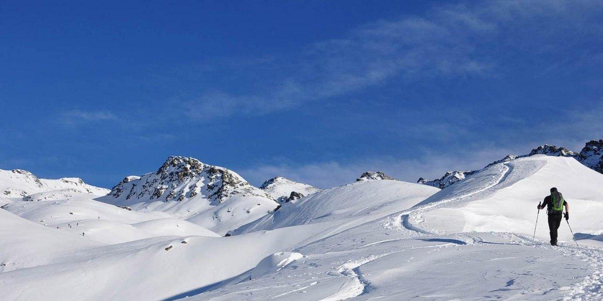 Aufstieg zur Kraspesspitze