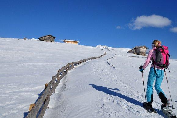 Villanderer & Latzfonser Alm - Paradies für Schneeschuhwanderer im Eisacktal