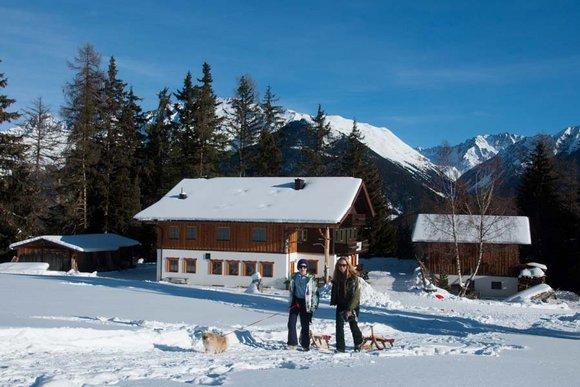 Rodelhütten in Tirol