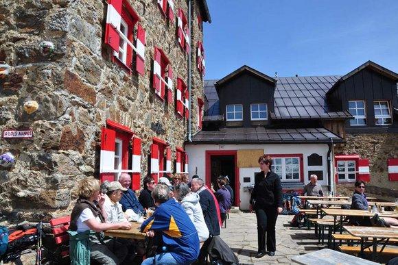Alle Berghütten in Tirol und Südtirol auf einem Blick