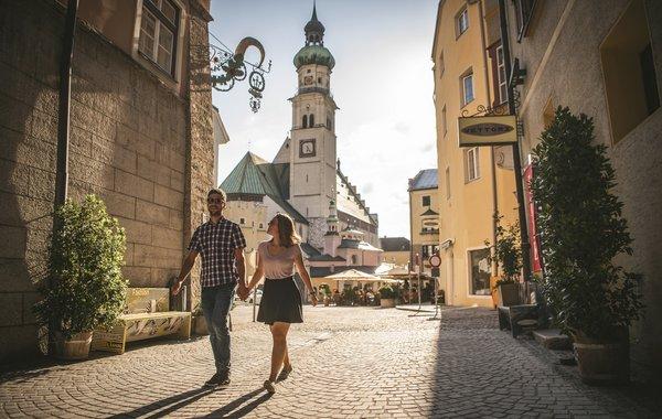 Wunderschöne Altstadt Hall