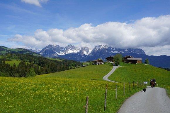 Kitzbühel Umgebung mit Jochbergtal