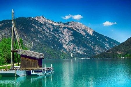 Mit dem SUP Board in die Alpen