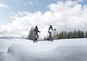 schneeschuhwandern wintererlebnis kufsteinerland