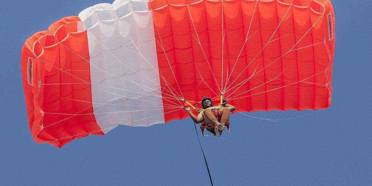 Fallschirmspringen in Kanada