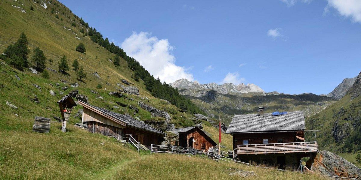 Aufstieg zum Großen Muntanitz über die Äussere Steineralm