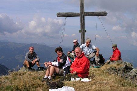 Bischof-Sonnspitze (2127m/2062m) vom Parkplatz Wildalmgraben