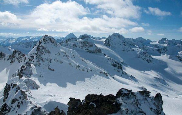 Blick über die Blaue Silvretta