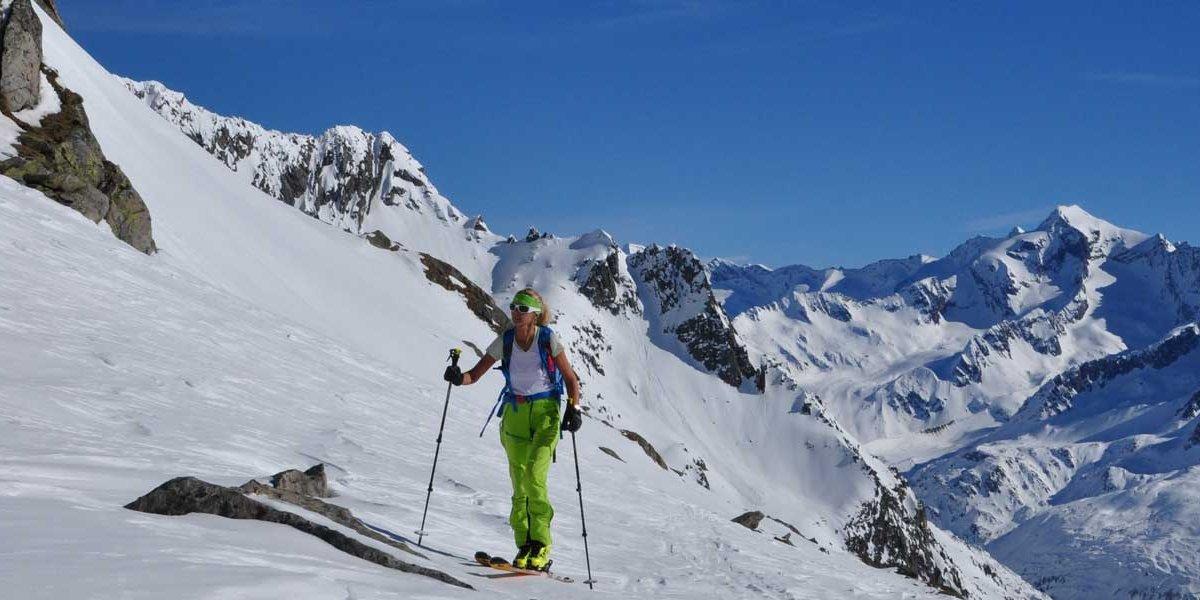 Ski-Hochtour Rauchkofel von Kasern