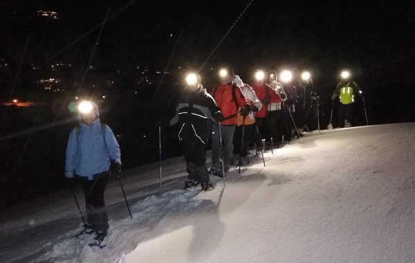 Das Knirschen im Schnee in der Wildschönau bei Nacht!