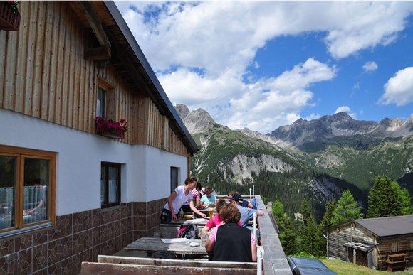 Berghütten im Lechtal, Tannheimer Tal und Reutte Umgebung