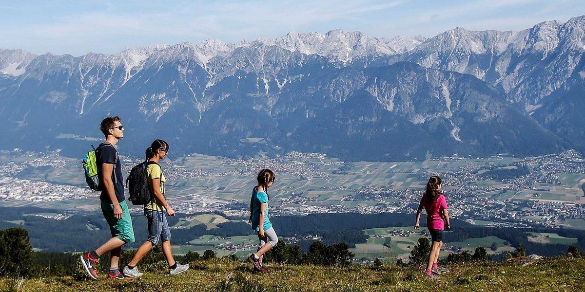 Glungezer, ein Paradies für Wanderer in den Tuxer Alpen