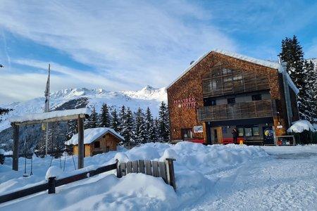 Naviser Hütte – Winterwanderung vom Parkplatz Schranzberg