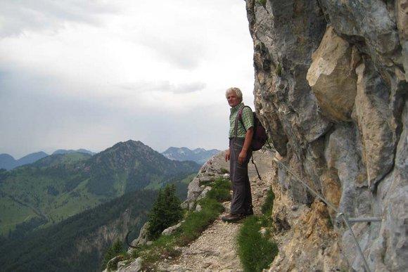 Klettersteige in Bayern