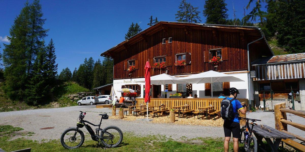 Mountainbiken am Arlberg