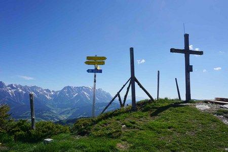 Schönwieskopf (1994m) vom Berggasthof Mitterberg