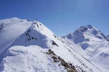 Gamsbergspitze-Wintergipfel (2620m) von See