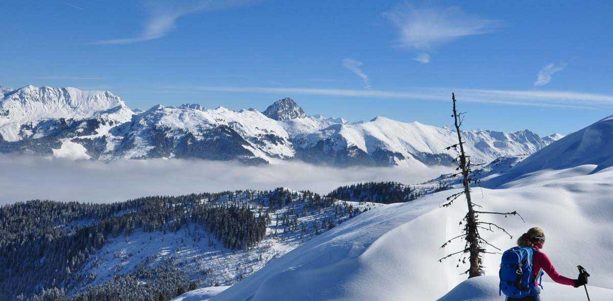 Skitour auf den Lodron