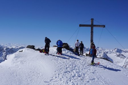Östliche Schnapfenspitze von der Heidelberger Hütte