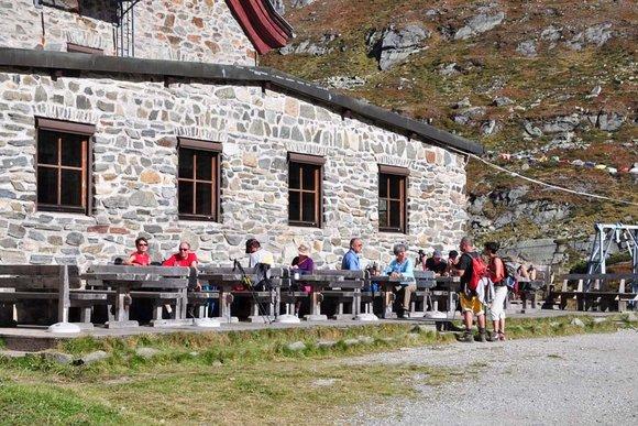 Berghütten im Stubaital