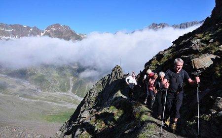 Hütte zu Hütte oder Mehrtages-Gipfeltouren in Tirol