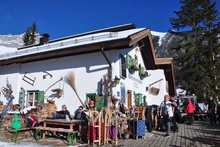 Wettersteinhütte, 1717 m - Leutasch