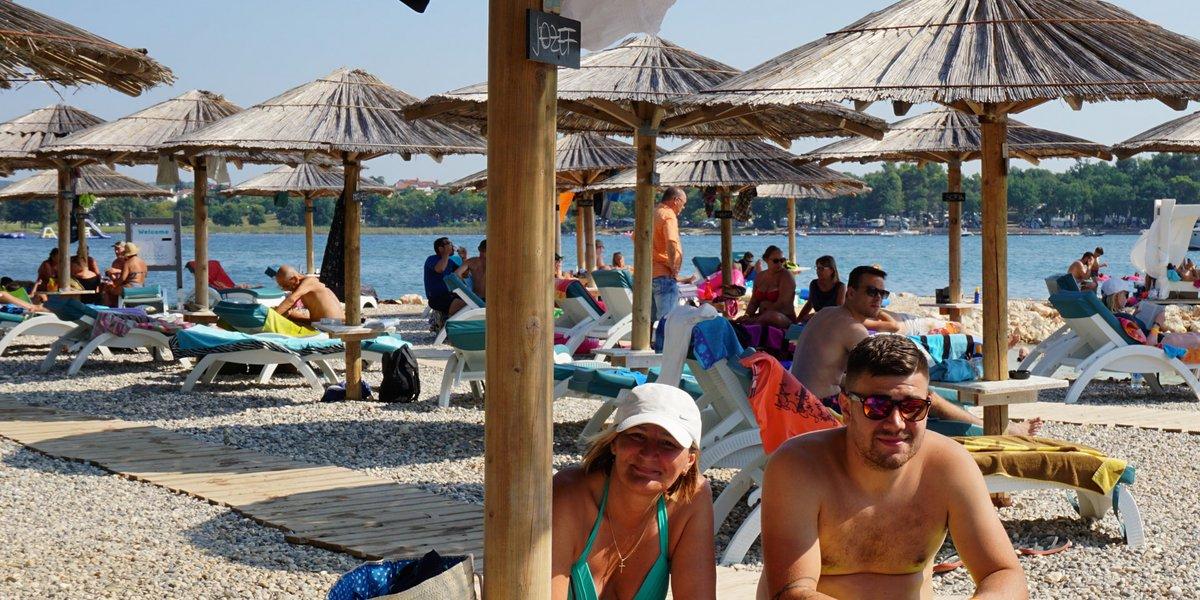 Relaxen im Polidor Beach