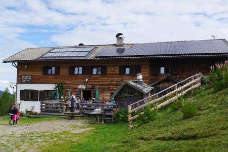Enzianhütte Zirog vom Brenner Ort - Rundtour