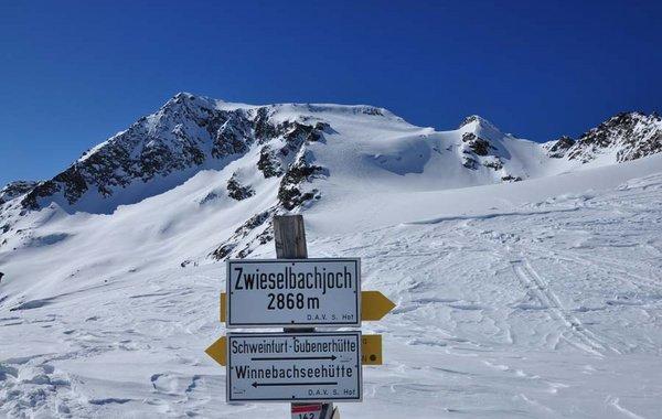 Am Zwieselbachjoch - Aufstieg zum Breiten Grieskogel