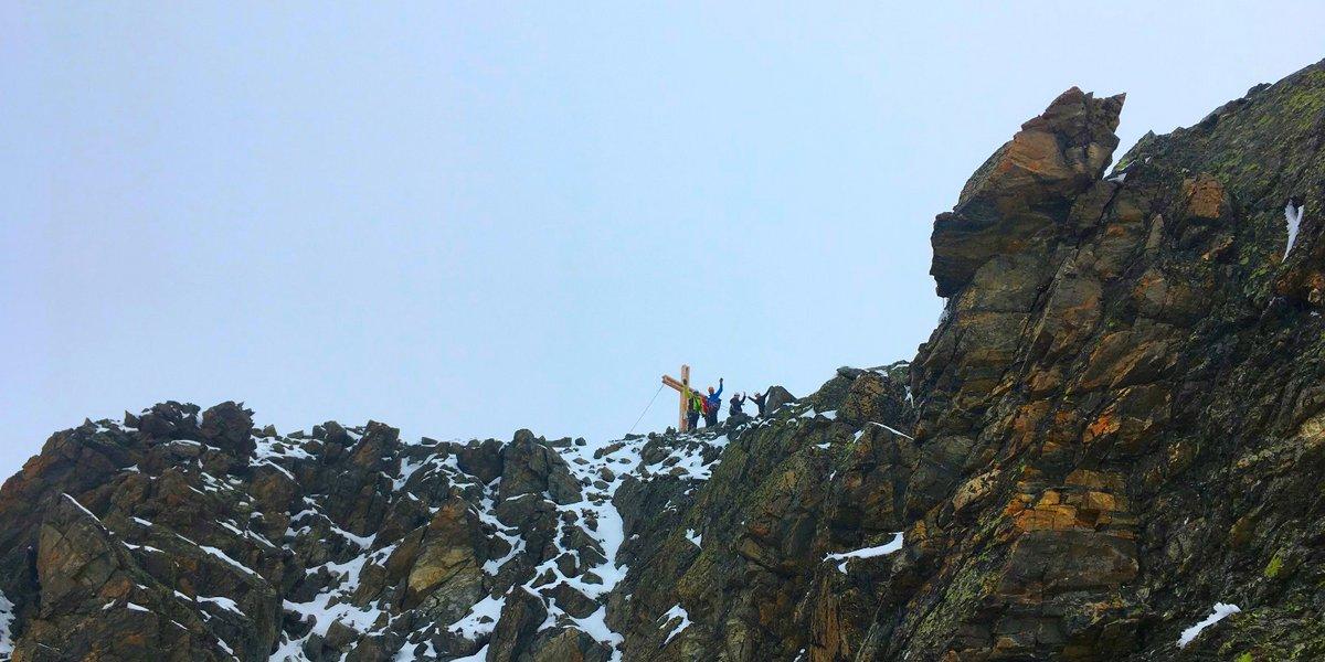 Die Gruppe am Gipfel! Verpeilspitz erreicht!