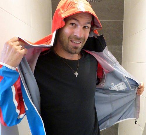 Hyphen Sports Jacke Jamspitz schützt bestens vor Wasser!
